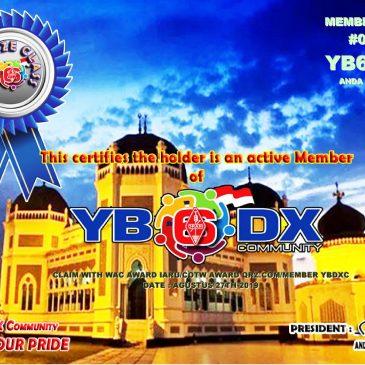 WELLCOME YB6HAI AS YB6_DXCom#001