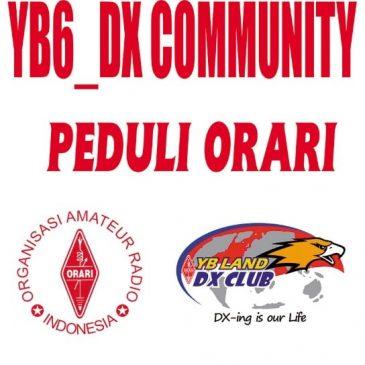 YB6-DX Community Road Show Peduli Orari