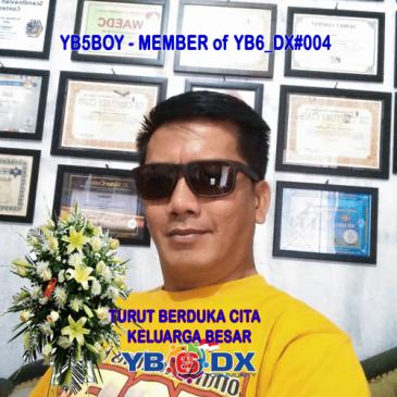 RIP YB5BOY – MEMBER of YB6_DXC#004