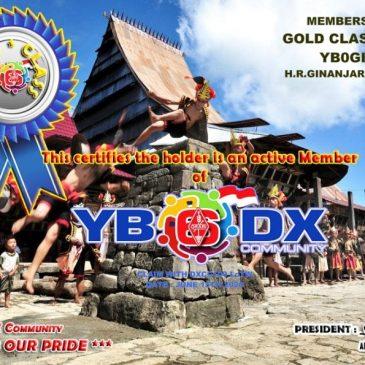 WELCOME TO YB0GIN as YB6_DXCom#120