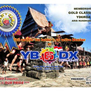 WELCOME TO YD6ROA AS YB6_DXCom # 056