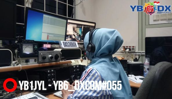 Special Event Station 8A538BGR Mode SSB by YB1JYL