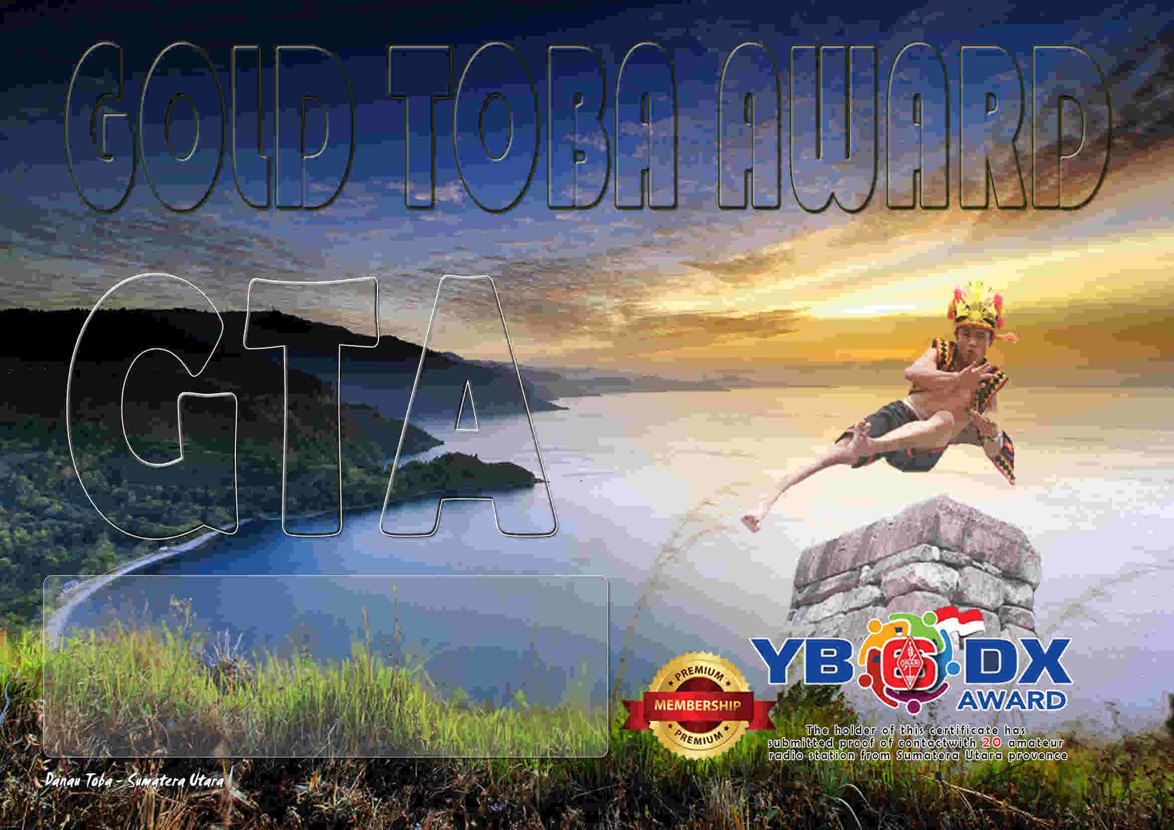 GOLD TOBA PREMIUM AWARD ( GTA )