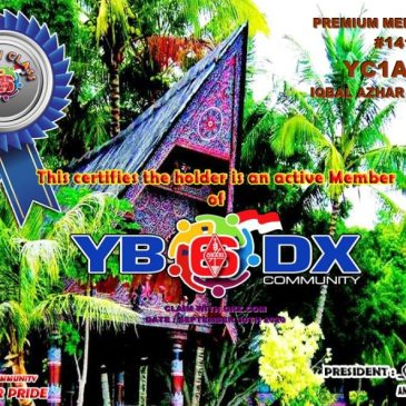 WELCOME TO YC1AWT AS YB6_DXCom#141
