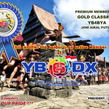 WELCOME TO YB4BYA AS YB6_DXCom#139