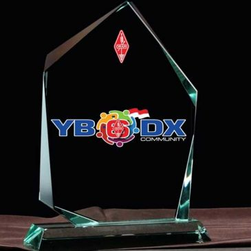 New DXCC Plaque for Premium Member YB6_DX Community Edition