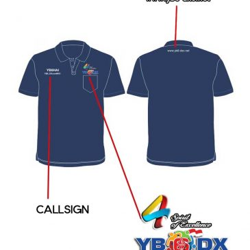 Poloshirt Kegiatan 4th YB6-DXC Limited Edition
