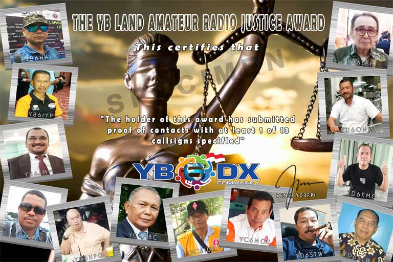 The YB Land Amateur Radio Justice Award