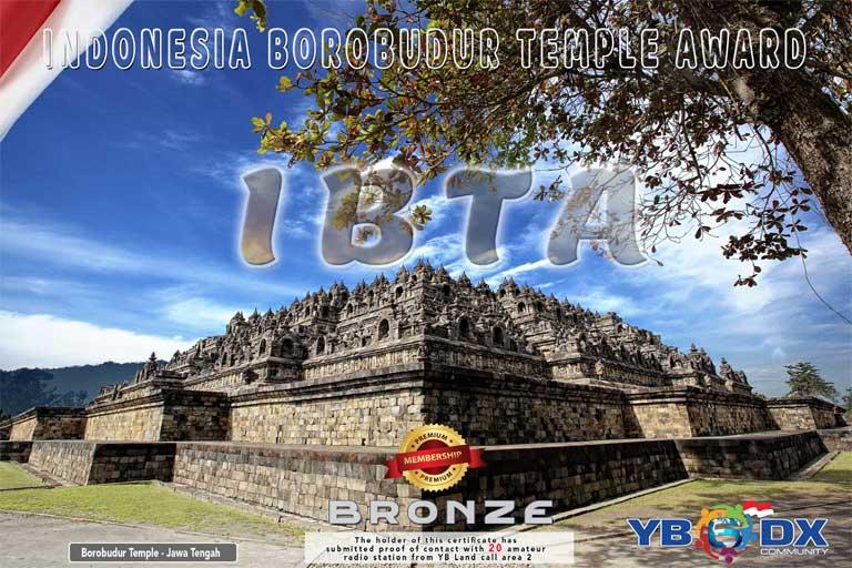 IBTA BRONZE AWARD PREMIUM MEMBER