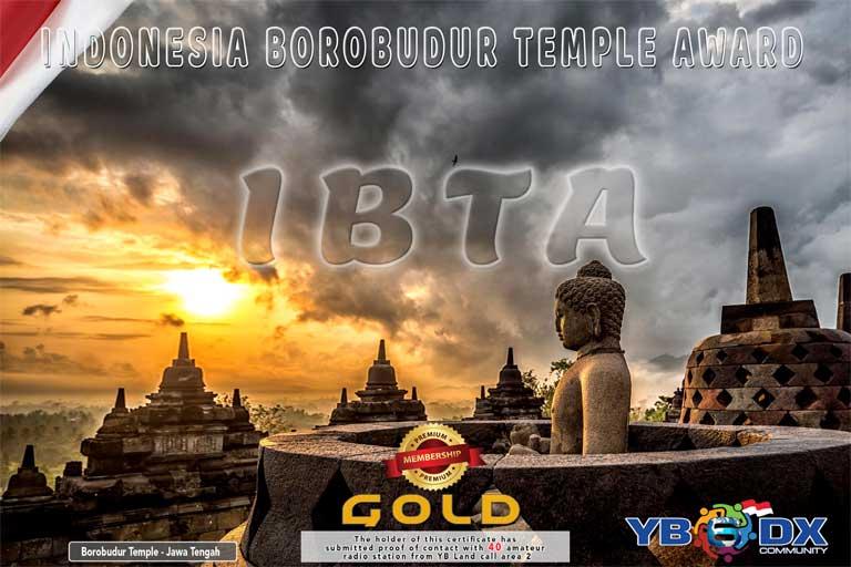 IBTA GOLD AWARD PREMIUM MEMBER