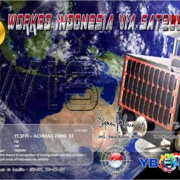 Worked Indonesia via Satellite Award