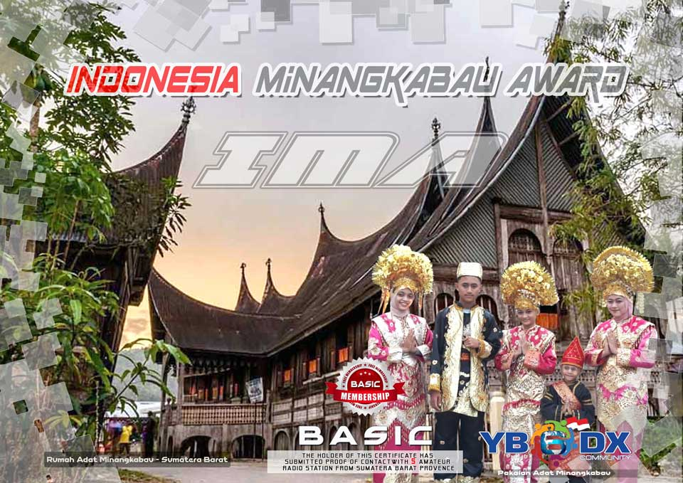 Indonesia Minangkabau Award BASIC Free Member