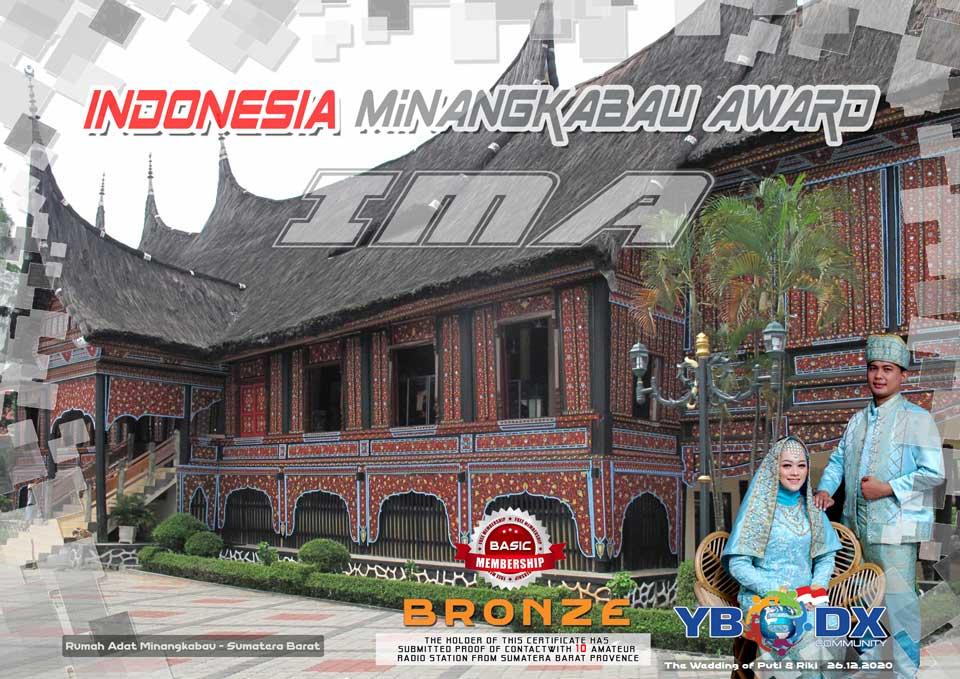 Indonesia Minangkabau Award Basic BRONZE Free Member