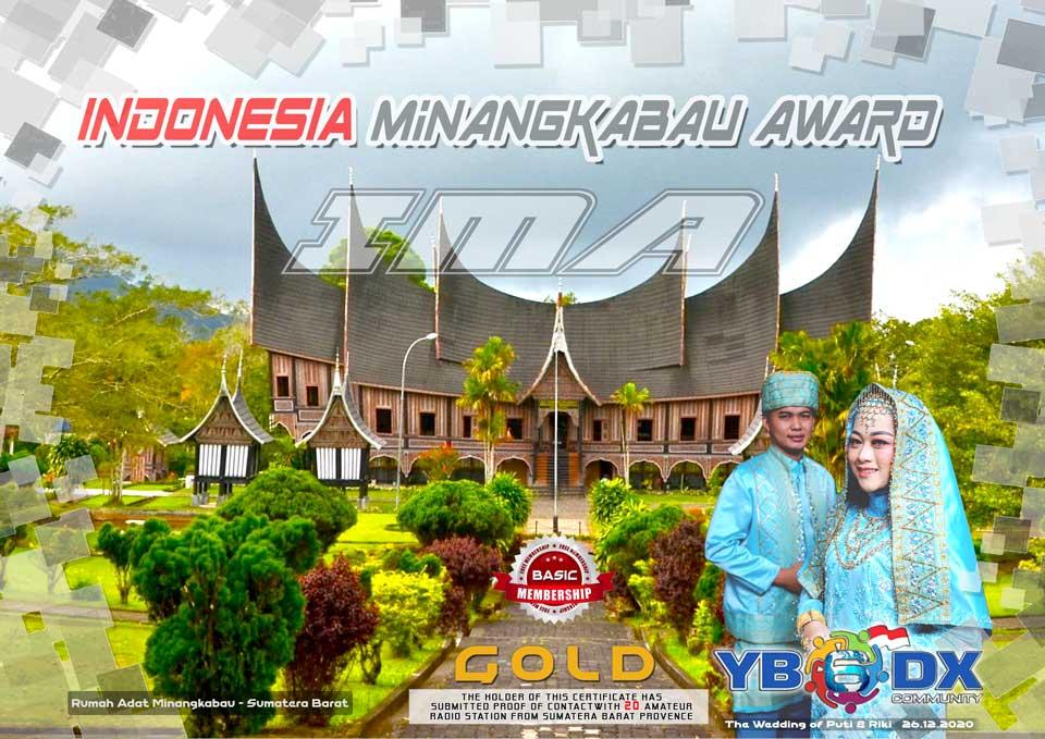Indonesia Minangkabau Award Basic GOLD Free Member