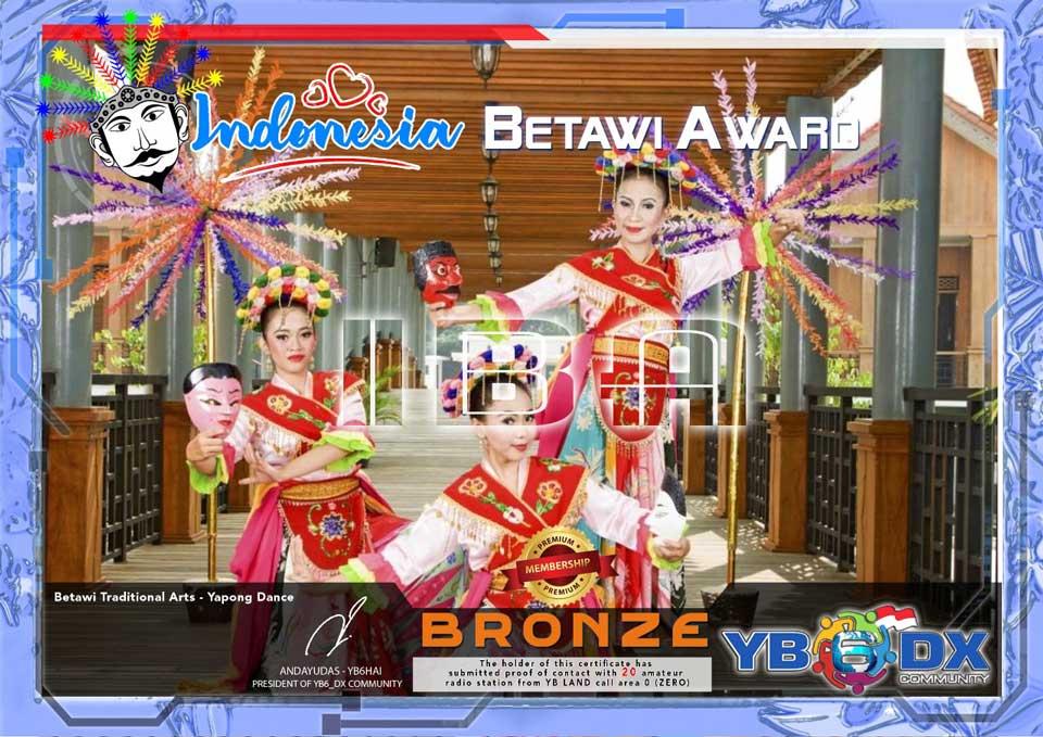 Indonesia Betawi Bronze Award