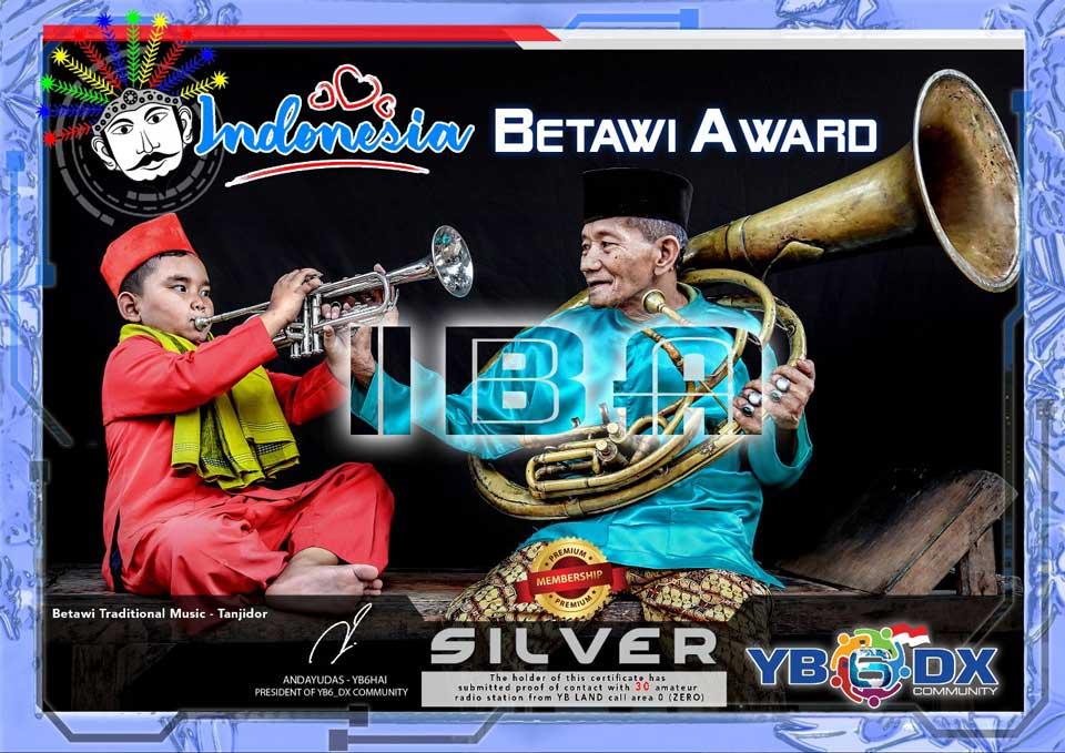 Indonesia Betawi Silver Award