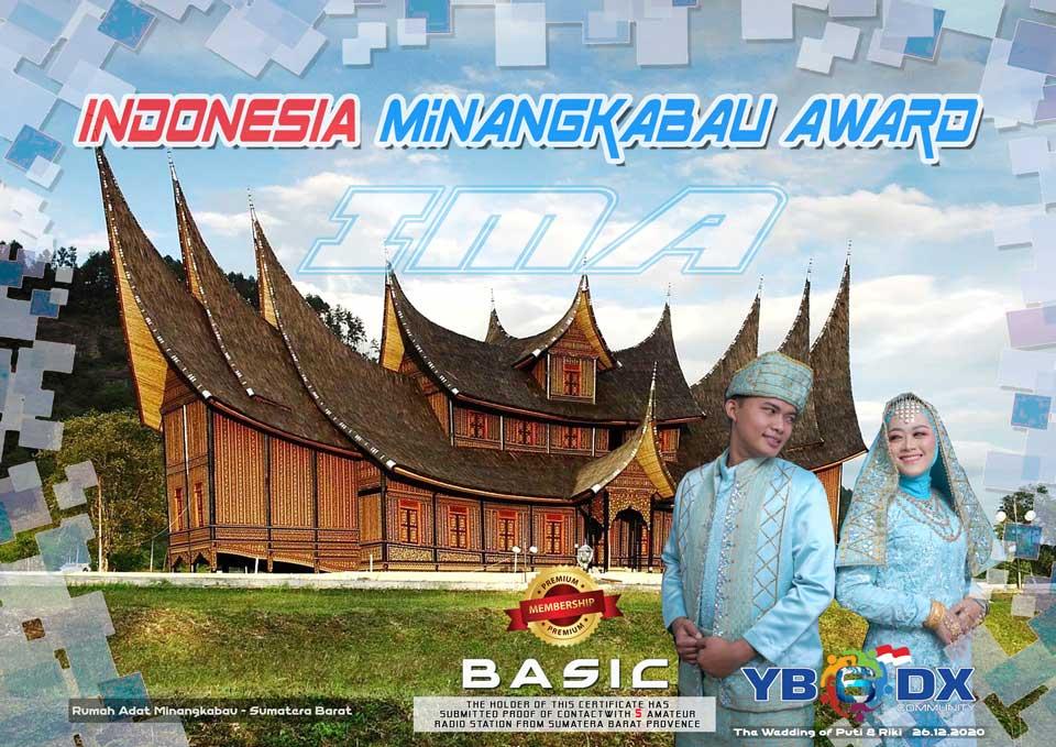 Indonesia Minangkabau Award Premium BASIC Member