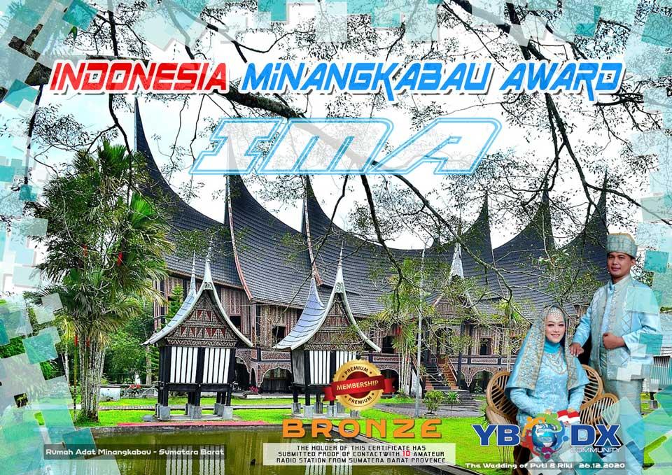 Indonesia Minangkabau Award Premium BRONZE Member
