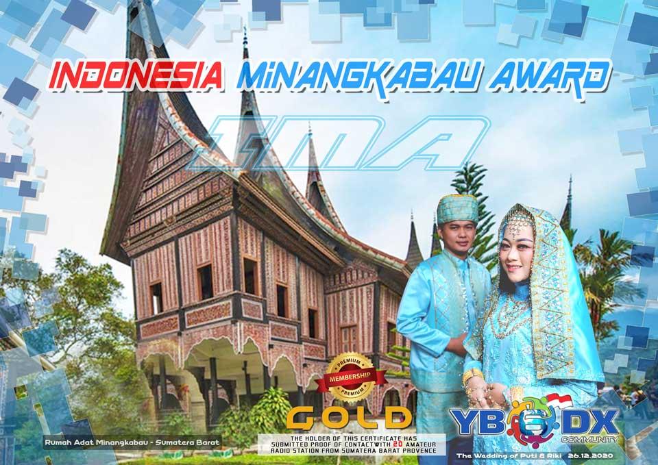 Indonesia Minangkabau Award Premium GOLD Member
