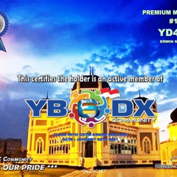 WELCOME TO YD4SIO AS YB6_DXCom#191