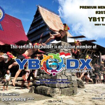 WELCOME TO YB1TQL AS YB6_DXCom#207