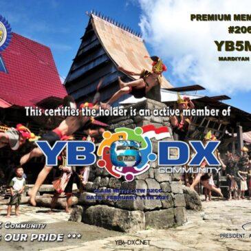 WELCOME TO YB5MB AS YB6_DXCom#206