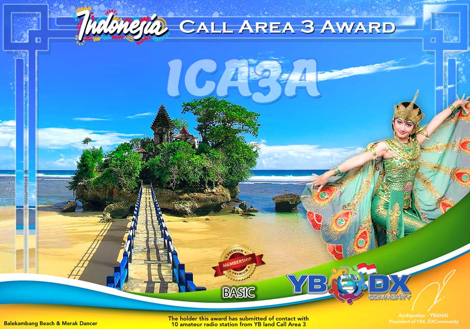 ICA3A PREMIUM AWARD BASIC