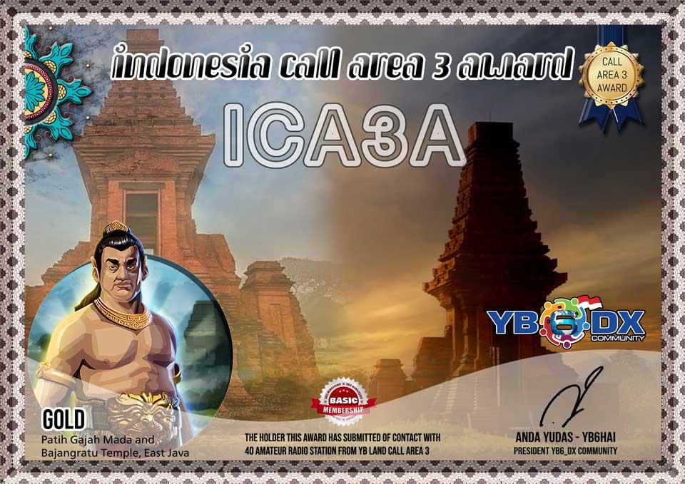 ICA3A FREE AWARD GOLD