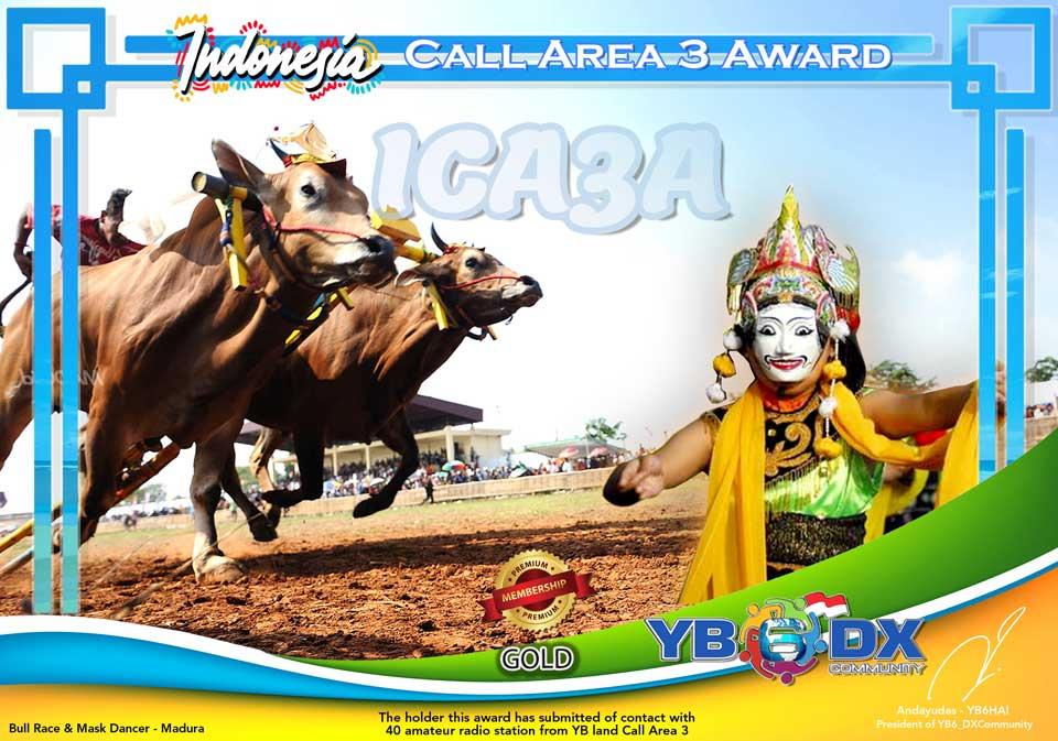 ICA3A PREMIUM AWARD GOLD