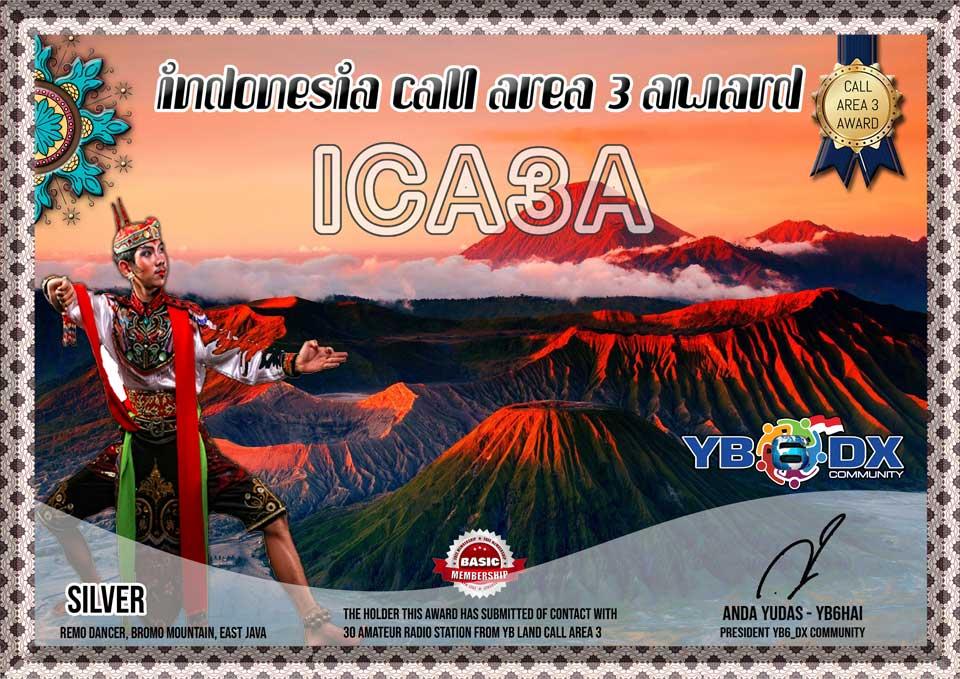 ICA3A FREE AWARD SILVER
