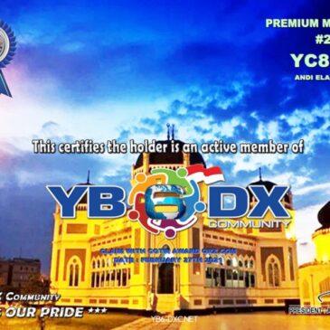 WELCOME TO YC8FMN AS YB6_DXCom#210
