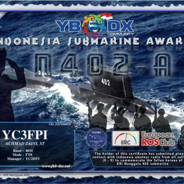 Indonesia Submarine Award Edisi KRI Nanggala 402