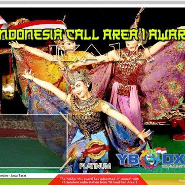 Indonesia Call Area 1 Award