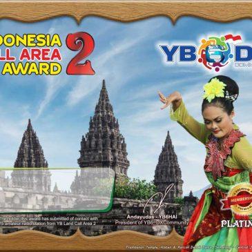 INDONESIA CALL AREA 2 AWARD