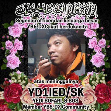 Selamat Jalan Sahabat YB6_DXCommunity – YD1IED/sk